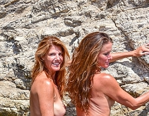 Yummygigi/Gigi and Sofie Nude Availa Beach